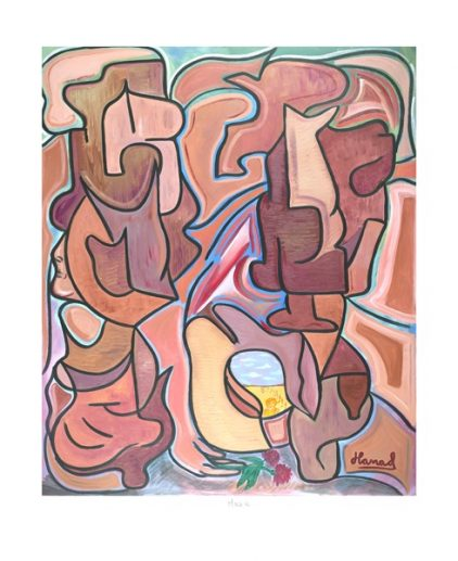 Young Picasso - Maze - print