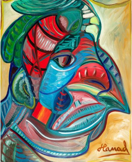 Young Picasso - Hamad Al Humaidhan The Masked Amigo