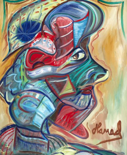 Young Picasso - Hamad Al Humaidhan The Masked Chica