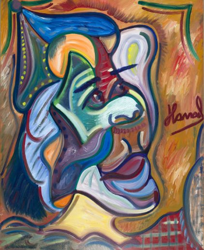 Young Picasso - Hamad Al Humaidhan The Masked Drog