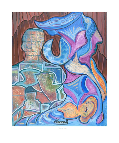 Young Picasso - Help Me - print