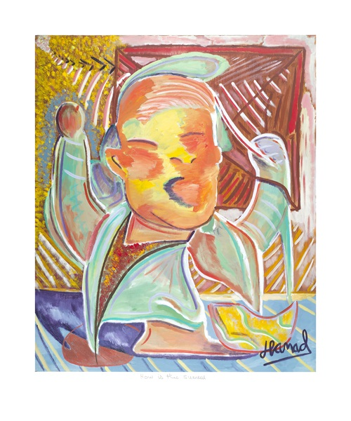 Young Picasso - How is this Summer - print