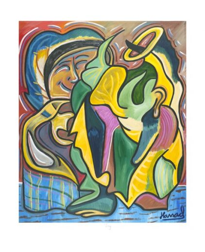 Young Picasso - Joy - print