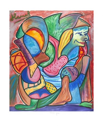 Young Picasso - Thank You - print