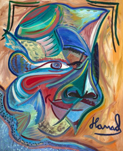 Young Picasso - Hamad Al Humaidhan The Masked Barat